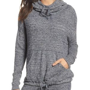 Barefoot Dreams Cozychic Blue pullover sweater S